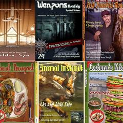 Обложки журналов.
