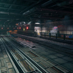 Железнодорожный тоннель.
