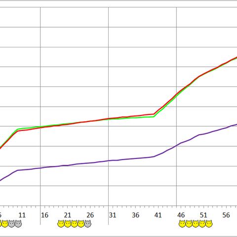 Narasimha development chart.