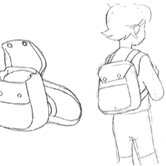 Yu's backpack