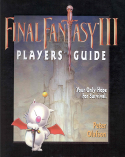 Final Fantasy III Players Guide cover