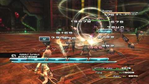 Final Fantasy XIII Combat contre Syphax