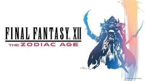 Final Fantasy XII The Zodiac Age Announcement Trailer