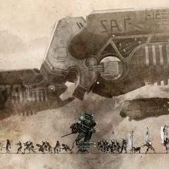 Фон записей об имперской армии.