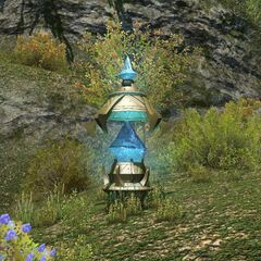 An Aethernet Shard in Gridania.