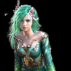 Rydia's CG render.