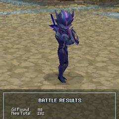 Dark Knight Cecil's victory pose (DS).