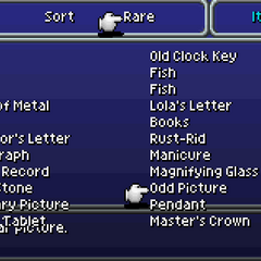 List of rare items (GBA).