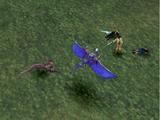 Final Fantasy VIII battle poses