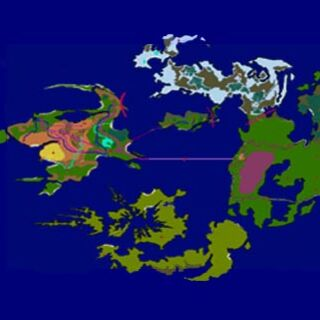 Final fantasy viiiconcept art final fantasy wiki fandom powered world map gumiabroncs Image collections