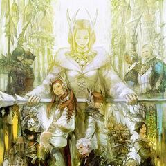 Arte dos NPCs de Gridania.