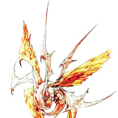 Zodiark artwork for <i>Final Fantasy Tactics</i>.