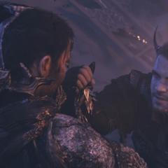 Никс убивает Главку.