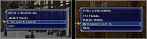 Market ward search FFXIV