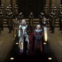 Калиго перед императором.