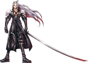 Sephiroth Nomura art