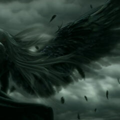 Sephiroth in <i>Advent Children Complete</i>.