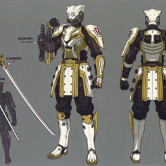 An armored infantry (unused) from <i><a href=