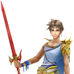 Bartz's render from <i>Dissidia Final Fantasy</i>.