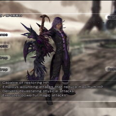 First battle against Caius in Oerba.
