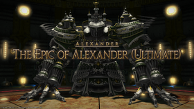 FFXIV Epic Alexander Title