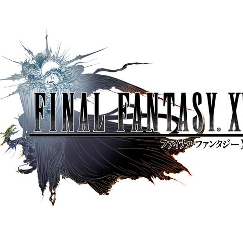 Логотип <i>Final Fantasy XV</i>.