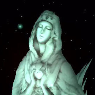 The Goddess Statue in the Japanese version of <i>Crisis Core</i>.