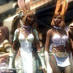Vieras durante um FMV em <i>Final Fantasy XII</i>.
