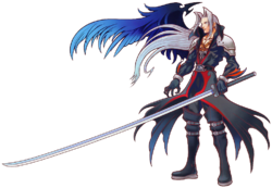 Sephiroth - Kingdom Hearts Artwork