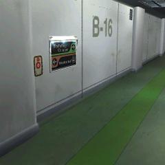 Hallway to Training Center.