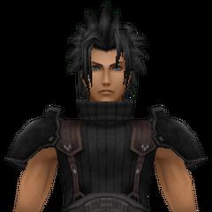 Модель Зака 1-ого класса в <i>Crisis Core -Final Fantasy VII-</i>.