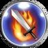 FFRK Bladestorm Flames Icon