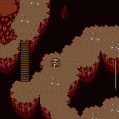 Japanese dungeon image for <i>Sealed Cave</i> in <i><a href=