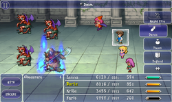 FFV iOS Doom