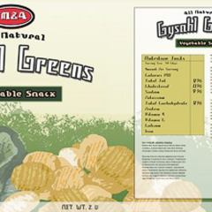 Gysahl Green snack.