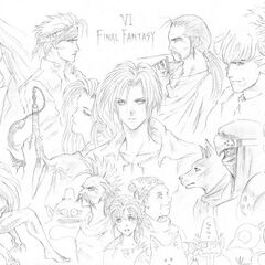 Sketch of the cast of <i><a href=
