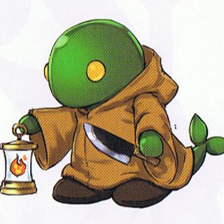 Tonberry concept art.