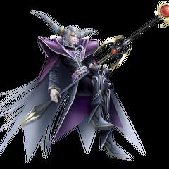 Renderização da versão do <i>Final Fantasy Origins</i> do Imperador no <i>Dissidia 012 Final Fantasy</i>
