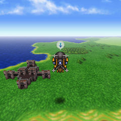 Doma Castle on the World of Balance map (iOS/Android/PC).