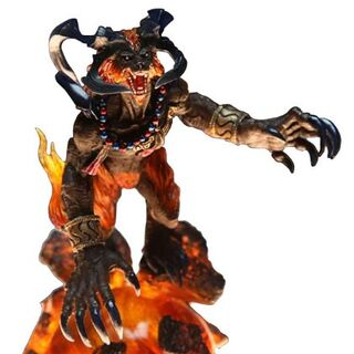 Ifrit from Final Fantasy Master Creatures Kai Vol 2.