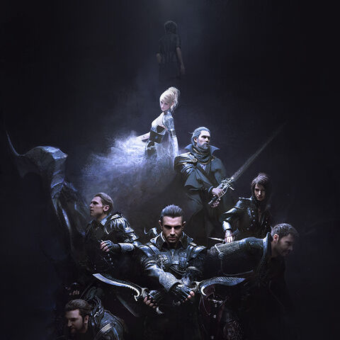 <i>Kingsglaive: Final Fantasy XV</i> <small><small>(Packaged with <i>Final Fantasy XV</i> Deluxe Edition)</small></small>