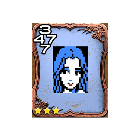 Maria's Triple Triad card.