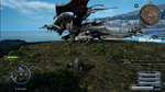 Dread Behemoth at Cape Caem Timed Quest in FFXV