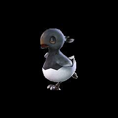 Black Chocobo Chick.