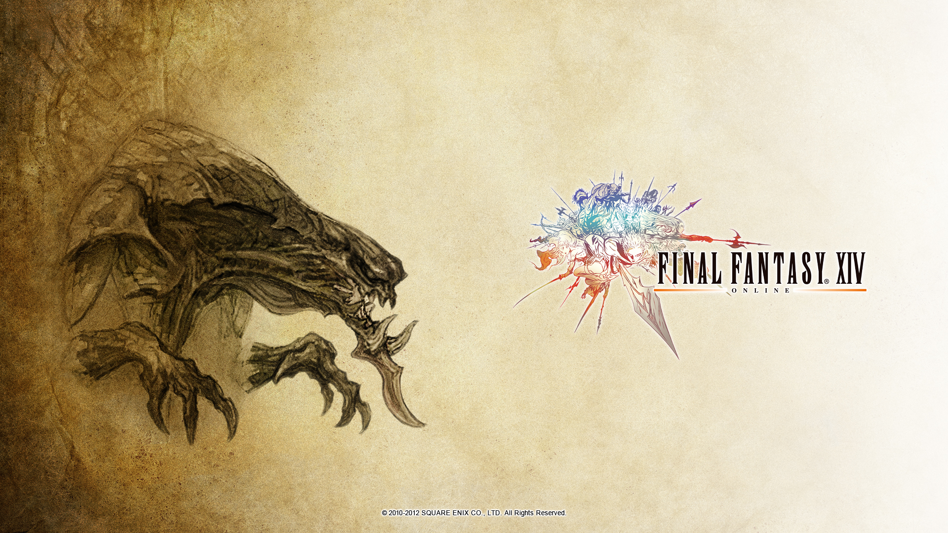 Image - FFXIV Wallpaper 1920X1080 Demon Wall.jpg | Final Fantasy ...