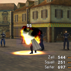 G-Soldier using Fire.