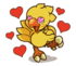 LINE Chocobo Sticker14