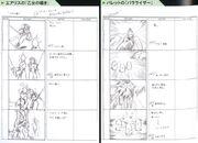 Limit Break Storyboard FFVII Sketches Unused