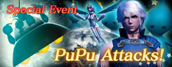 Mobius Event - PuPu Attacks! Banner