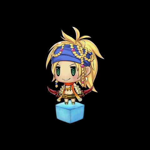 Ilustração de Rikku.
